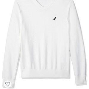 Nautica Classic Fit Lightweight Jersey Sweater